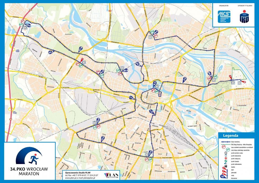 34. PKO Wrocław Maraton - pełna informacja
