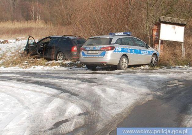 Wołowscy policjanci odzyskali skradzione auto
