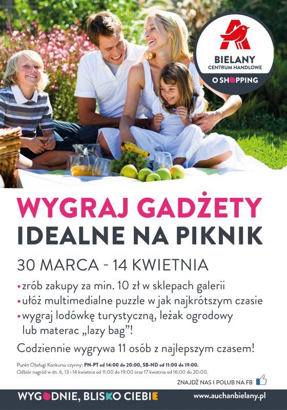 Zdobądź nagrody idealne na piknik