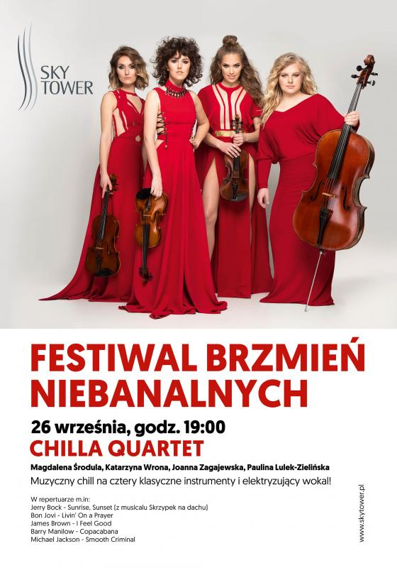 Chilla Quartet - muzyczny relaks wSky Tower