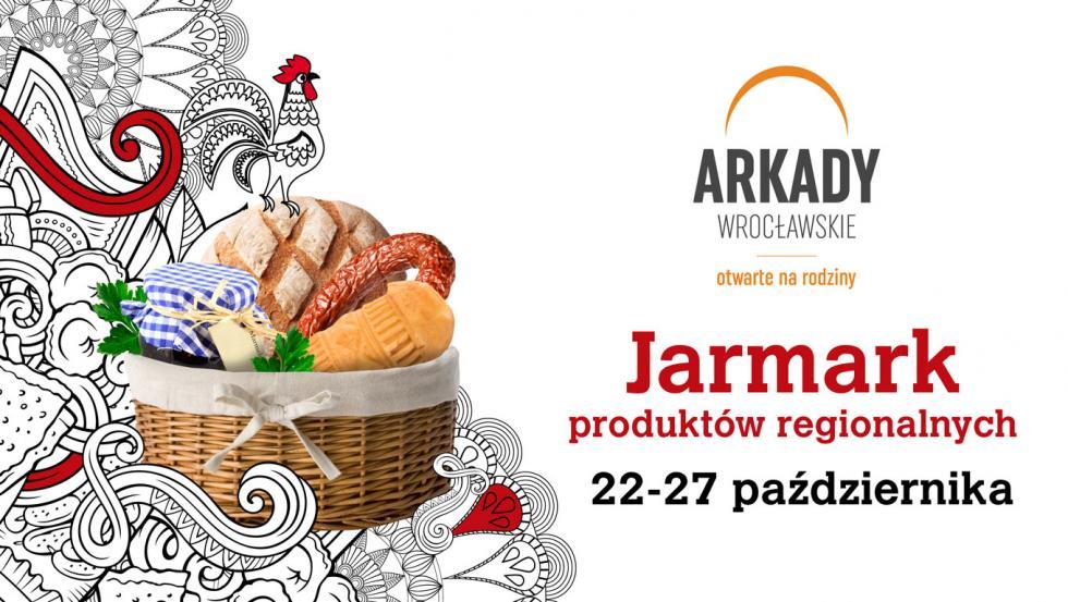 Jarmark Produktów Regionalnych ponownie wArkadach Wrocławskich