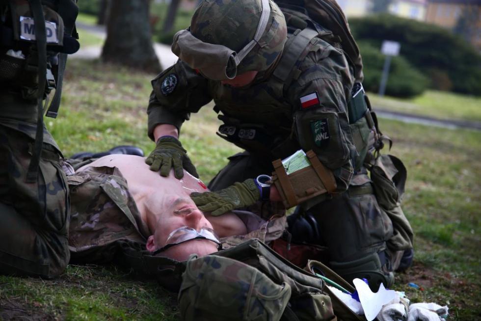 Tactical Combat Casualty Care weWrocławiu