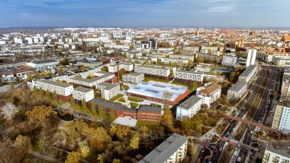 W 2021 niemal tysiąc mieszkań weWrocławiu