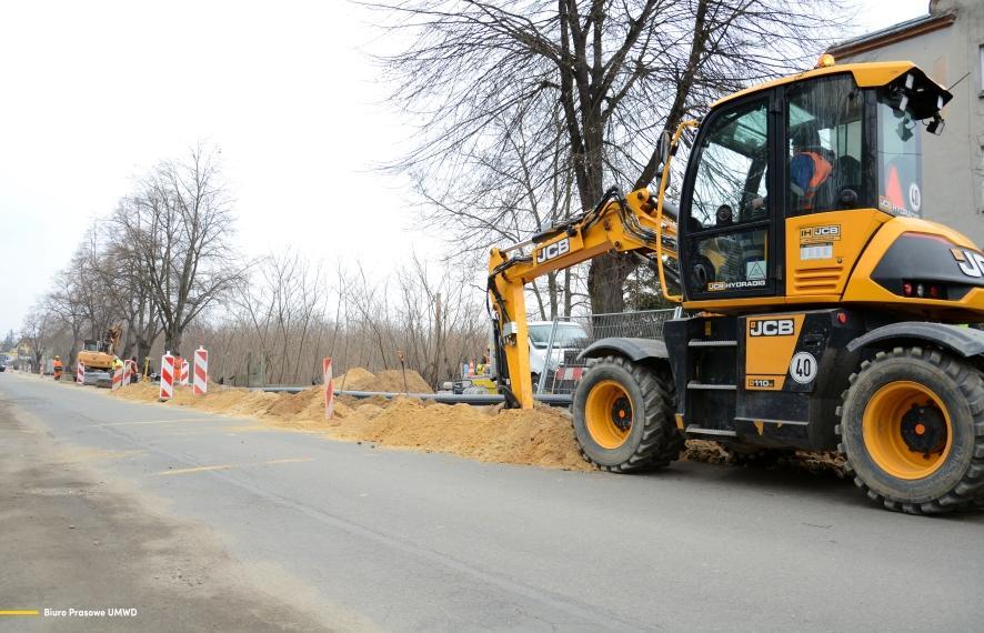 Największa inwestycja drogowa wWołowie wkracza wostatni etap realizacji