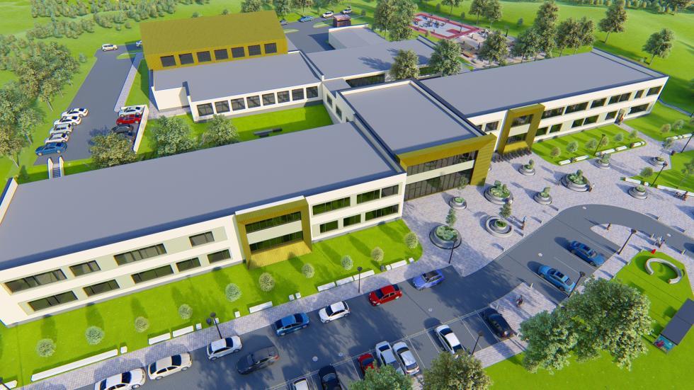9,5 mln dotacji na budowę szkoły. To efekt działań burmistrza