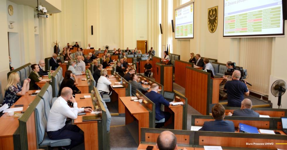 Zarząd województwa zvotum zaufania oraz absolutorium za wykonanie budżetu w2020 roku